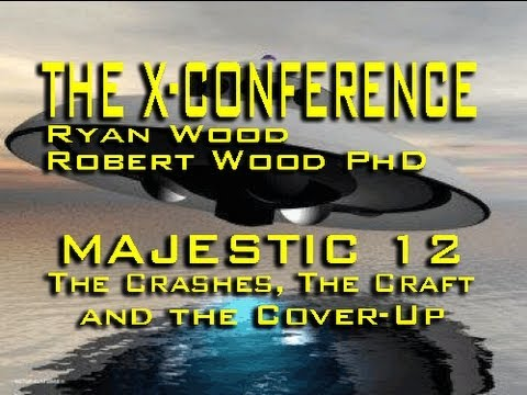 UFO Crashes, ET Tech and MJ-12- R. Wood PhD