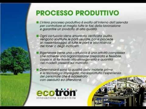 Presentazione Franchising Ecotron - Cartucce rigenerate e lampade LED