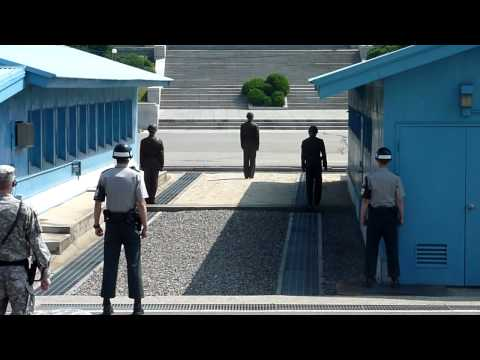 J.S.A. Joint Security Area South Korea 2011