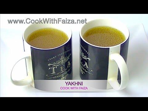 YAKHNI RECIPE *COOK WITH FAIZA*
