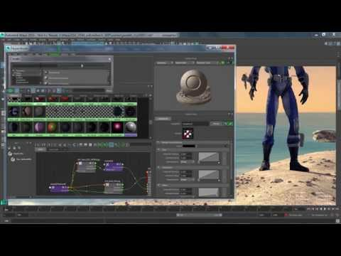 Maya 2016: Look Development Enhancements, New Look & Feel