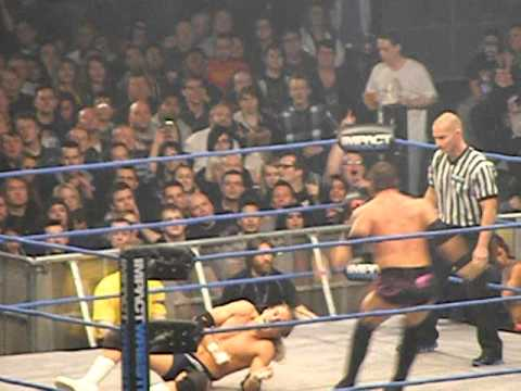 austin aries v mark haskins TNA maximum impact tour 2012