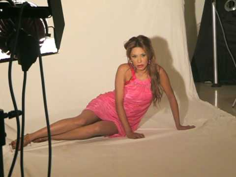 BACKSTAGE LINDA BATISTA PHOTO SHOOTING COVER MAGAZINE