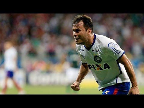 Veja os gols de Bahia 4 x 2 Goiás