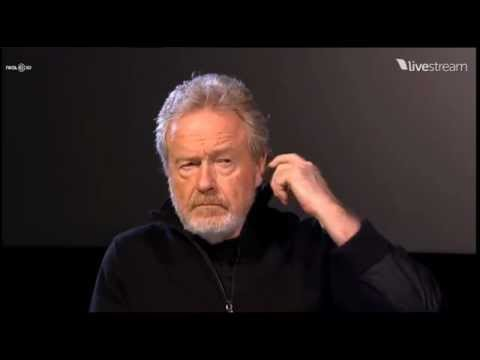 AvPGalaxy.net - AMC Prometheus Q&amp;A with Ridley Scott and Damon Lindelof