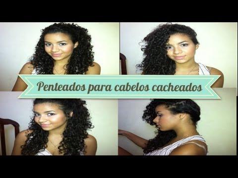 #1 Penteados para cabelos cacheados | Camilla Santana