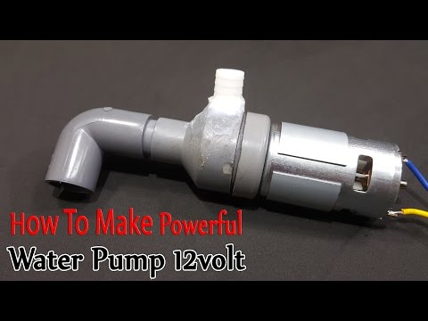 How to make Powerful Water Pump 12volt With 775 Motor - UCFwdmgEXDNlEX8AzDYWXQEg