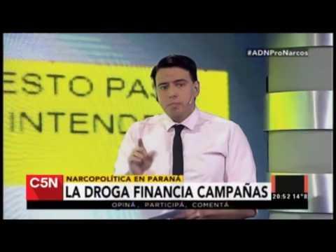 <b>Paraná.</b> El informe de C5N sobre narcotráfico y Cambiemos
