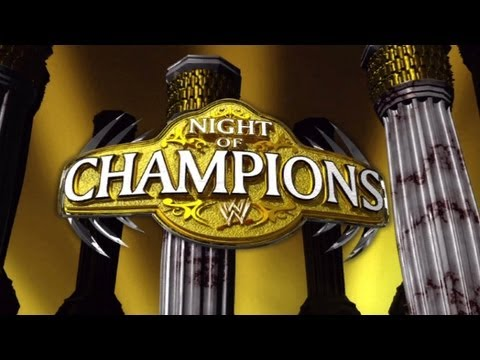 WWE - NIGHT OF CHAMPIONS 2012 LIVESTREAM - WWE '12 VIDEO GAME (MACHINIMA)