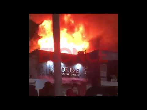 Incendio destruyó una casa electrodomésticos en Chajarí