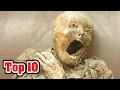 Top 10 CREEPY ARCHAEOLOGICAL DISCOVERIES