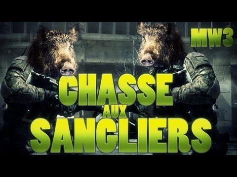 MW3   LA CHASSE AUX SANGLIERS ! Avec IngloriousJojo !