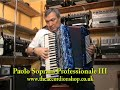 Paolo Soprani Professional 111 120 Bass Accordion
