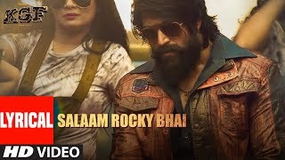 SALAAM ROCKY BHAI | KGF Chapter 1