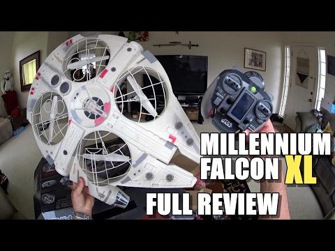 Star Wars MILLENNIUM FALCON XL Drone - Full Review - [Unbox, Inspection, Flight Test, Pros & Cons] - UCVQWy-DTLpRqnuA17WZkjRQ