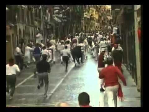 Encierro de San Fermín   10 de julio de 2002