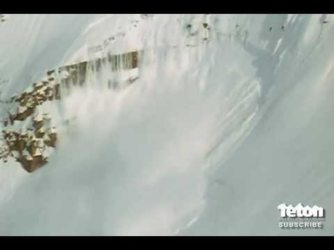 Skier Survives Massive Avalanche