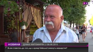 Нужно ли убирать маршрутки с Киевской?