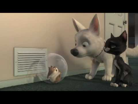What do dogs do?- scne from Disney's Bolt