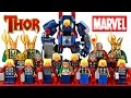My LEGO Thor™ Marvel Super Heroes 2016 Complete Minifigure Collection