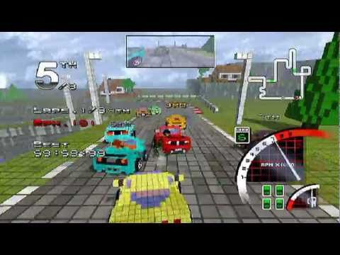 3D Pixel Racing - WiiWare Trailer