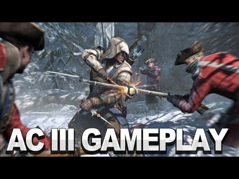 Assassin's Creed 3 Gameplay Trailer - Ubisoft E3 2012 Press Conference