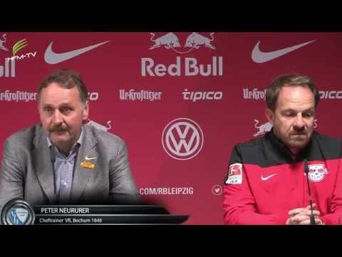 RB Leipzig - VfL Bochum 2:0, z.T. lustige Pressekonferenz v. 24.10.14