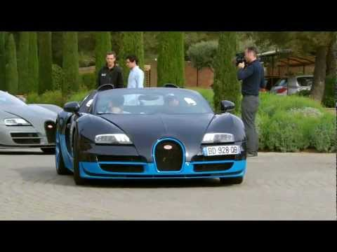 Bugatti Veyron Grand Sport Vitesse Start up