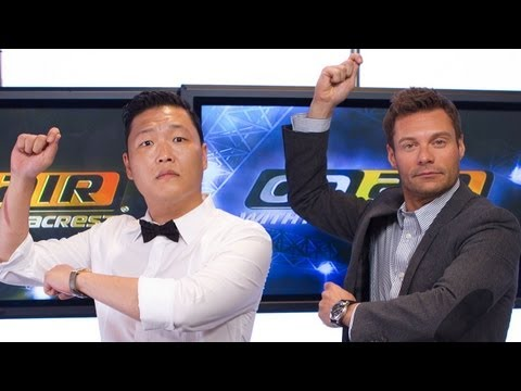 PSY Talks Gangnam Style with Seacrest - PART 2