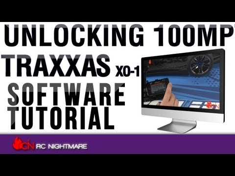 Unlocking 100MPH Traxxas XO-1 Software Tutorial