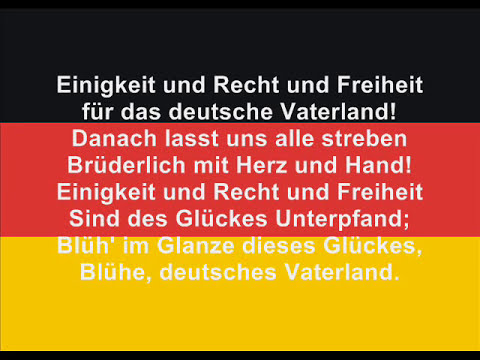 The anthem of Germany