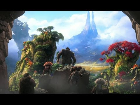 The Croods - Official Trailer (HD)