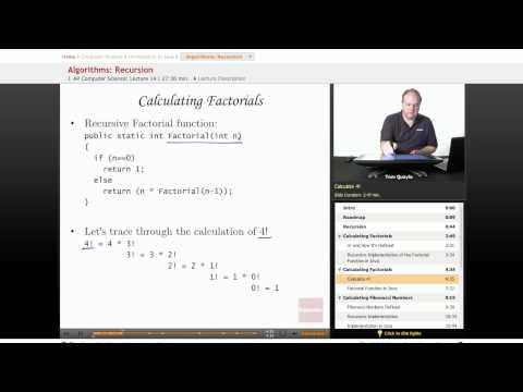 AP Computer Science: Recursion Algorithms