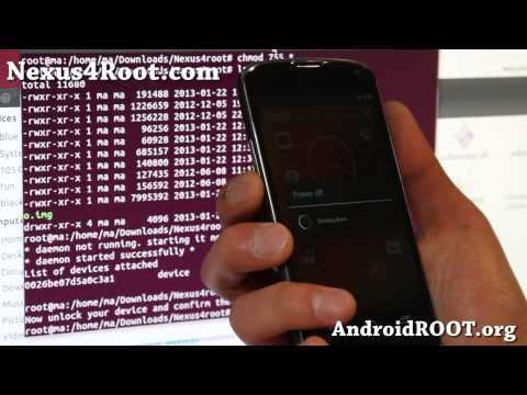 How to Root Nexus 4 on Linux/Ubuntu!