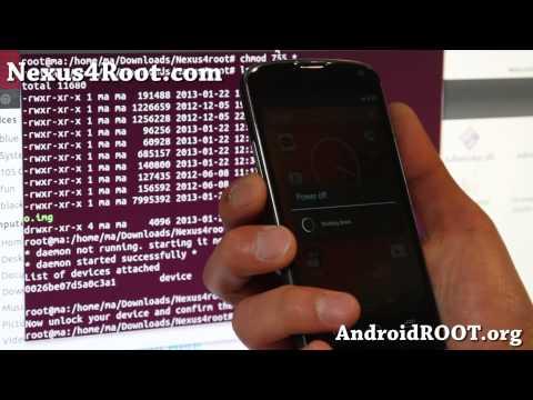 How to Root Nexus 4 on Linux/Ubuntu!