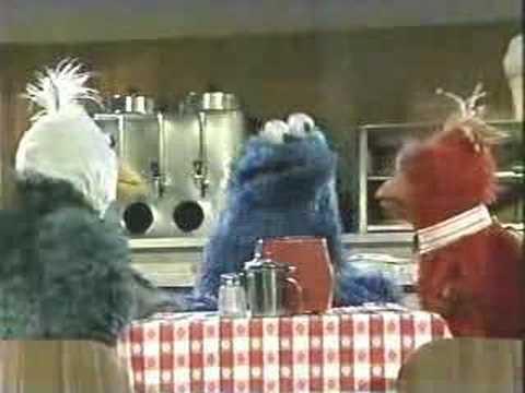 Sesame Street - Monsterpiece Theater Twin Beaks