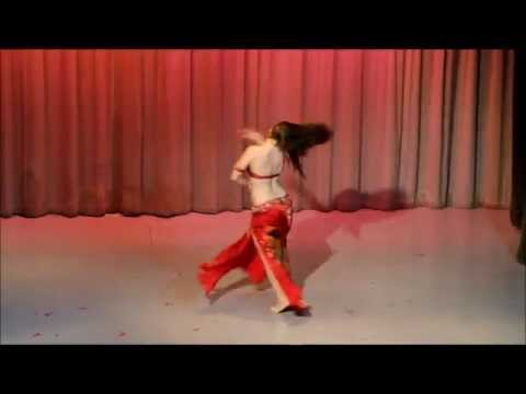 Cassandra Fox - Modern Egyptian Belly Dance Performance
