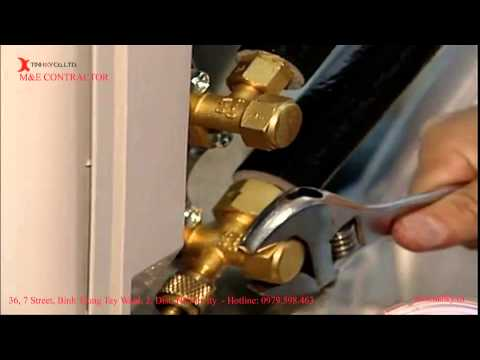 Hướng dẫn lắp đặt máy điều hòa