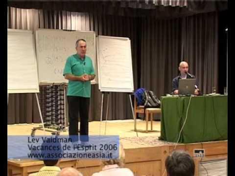 La fisica quantistica spiegata da Lev Vaidman