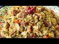 Фрагмент с конца видео МАШКИЧИРИ ☆ Каша просто БОМБА, такую вкусную никогда не ела ☆ Узбекская кухня ☆ Походная каша