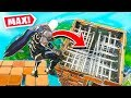 *MAX* HEIGHT TRAP DROPPER In Fortnite Battle Royale!