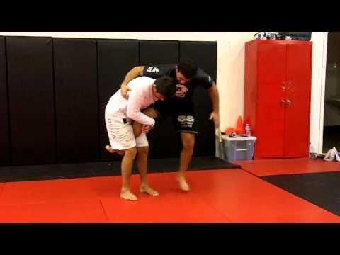 Jiu Jitsu Techniques - Single Leg Defense / Leg Lock With Clark Gracie and Ismael Mota