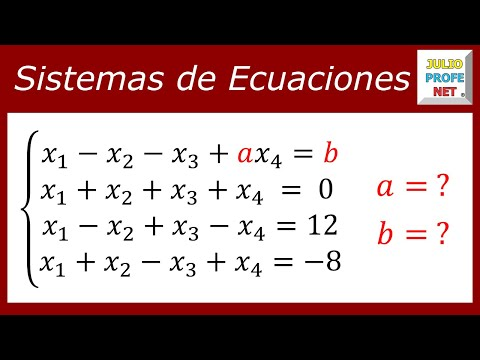 Método de Gauss para analizar un sistema de ecuaciones