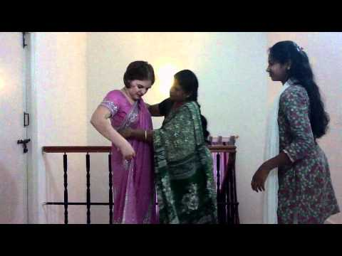 Sari Training - How to Wear a Sari (or Saree)