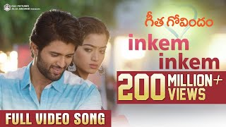 Inkem Inkem Full Video Song | Geetha Govindam