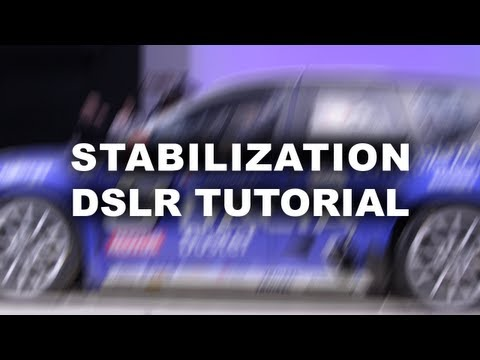 Stabilize shaky DSLR footage: Editing tutorial