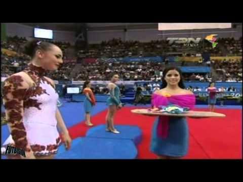 Cynthia Valdez Medalla de Oro - Gimnasia Rítmica Clavas Juegos Panamericanos Guadalajara 2011