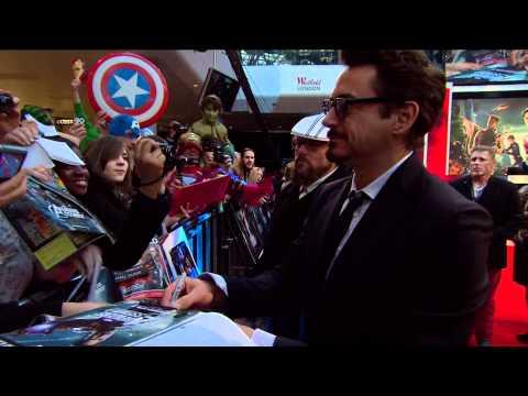 Marvel's Avengers Assemble - European Premiere - Westfield, London, April 19 2012 - Official | HD