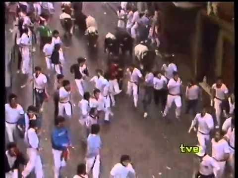 Encierro de San Fermín   8 de julio de 1983 480p