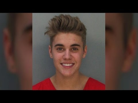 Justin Bieber, Charged With Resisting Arrest, DUI  1/23/14